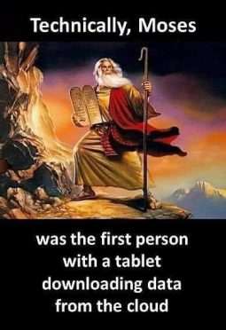 Moses Was First