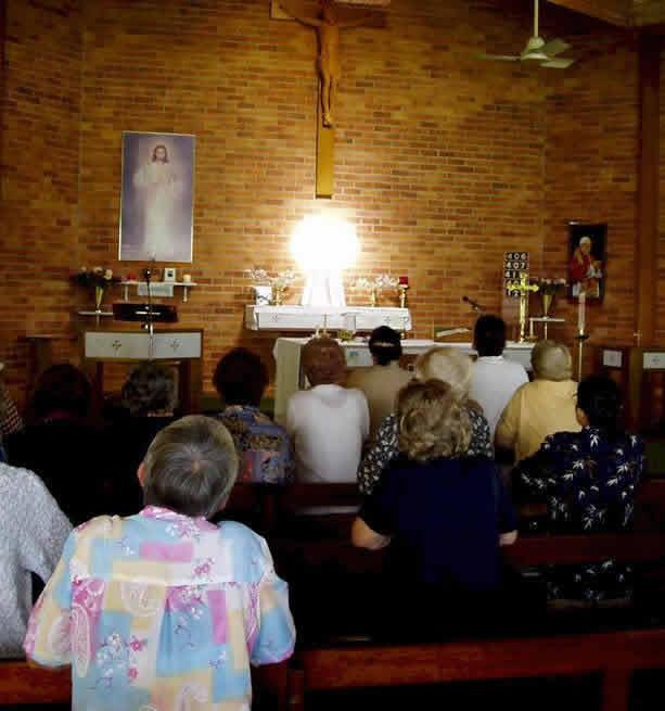 luminous tabernacle