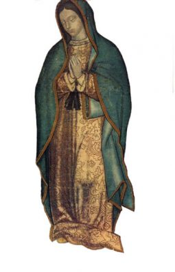 What The Original Guadalupe Image May Have Looked Like